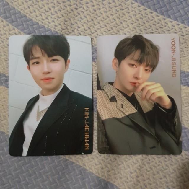 WTS - Jisung, Jaehwan IPU (Night Ver.) Photocard