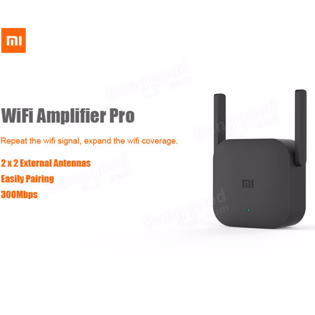 Xiaomi Mi Wifi Amplifier Plug Extender Booster Repeater Pro Usb 2 Range Wireless Router 300mb 2018lastest Modelinstock Nowfirstcome First Served Electronics Others On Carousell