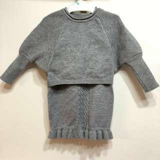 🆕18-24M BB針織套裝/冷衫冷裙