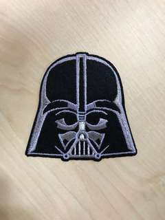 Iron On Patch: Star Wars Darth Vader