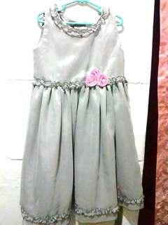 kaboosh gray girl's dress