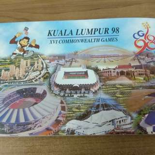 New 98 KL commonwealth RM50.00 note