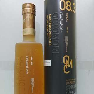 Bruichladdich Octomore8.3 309ppm whisky 威士忌
