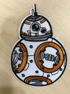 Iron on patch: BB8