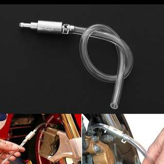 BN Motorcycle & Car Clutch Brake Bleeder Hose One Way Valve Tube Bleeding Tools Kit