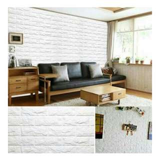 Korean Foam Bricks Wall Stickers - Child Protection/Decor