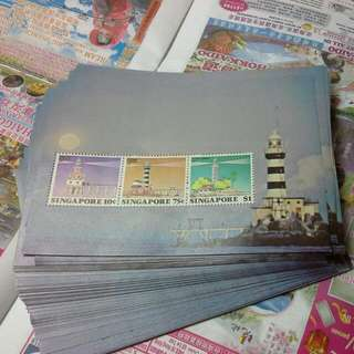 Singapore Lighthouse Mint Stamp Sheets Miniature