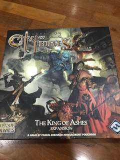 City of Thieves The King of Ashes Expansion