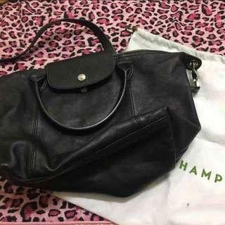 Longchamp 羊皮包包
