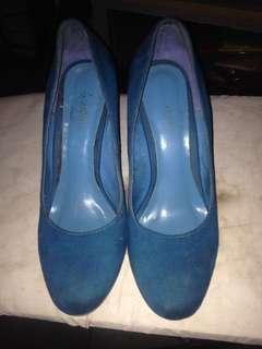 Janeo royal blue shoes