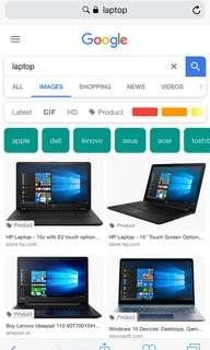 Looking For Hulugan na Laptop