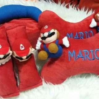 Bantalan 3 in 1 Mario untuk universal