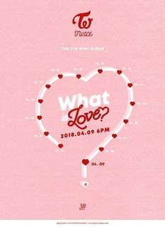 [W/FREE GIFT!] TWICE - What is Love