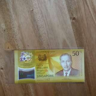 CIA $50 note 50AC461262