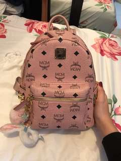 MCM Stark Backpack in Studded Visetos