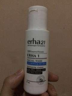 Facial wash erha 1