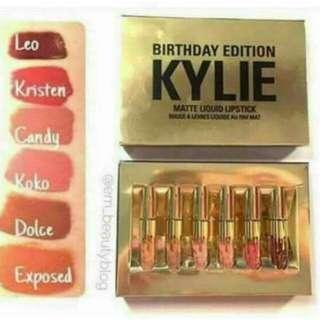 Kylie Edition Set 6pcs