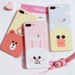 Line 公仔iPhone Case(需要訂)