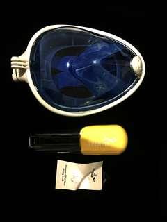 Revolutionary Full Dry Snorkeling Mask