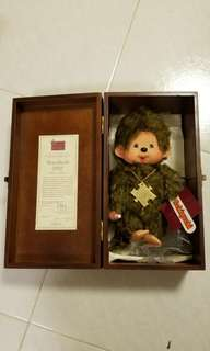 Monchhichi 2002 year's collection 紀念公仔