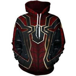 Marvel Iron Spider-Man Unisex Hoodie Avengers Infinity War