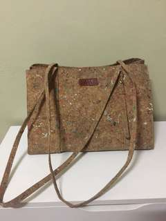 Authentic Mazemoizelle's Cork Shoulder Bag