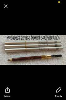 Brow Pencil With Brush