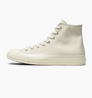 CTS: Chuck Taylor Cream High Cut Converse