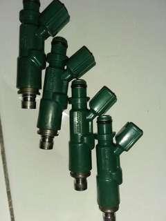 injector vios hijau ori kereta