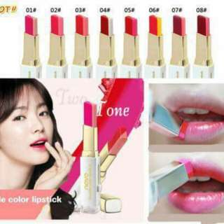 Tint Lip Bar (Double Color Lippy)