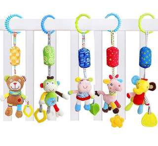 Baby handle ball toys /Baby cot accessories/ Stroller accessories /Toy