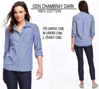 Branded ODN Chambray dark / light