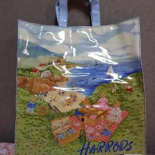 Authentic Harrods Bag Large