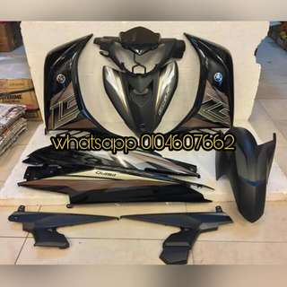 Yamaha Lc135 v2/v3/v4 Jupiter MX Purple Aurora coverset