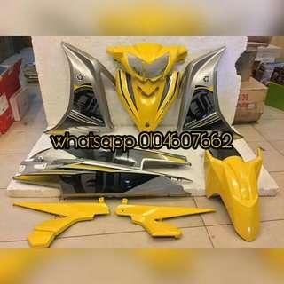 Yamaha Lc135 v2/v3/v4 Yellow Silver Civerset