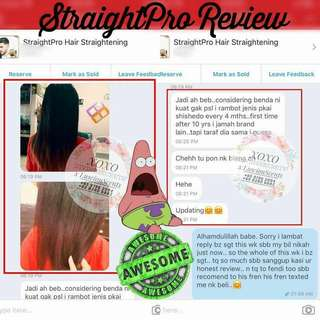 Straightpro Straight Hair Without Rebonding