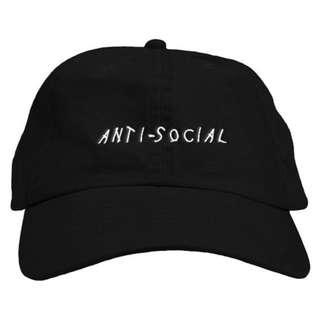 Topi Baseball Anti Social Keren Murah