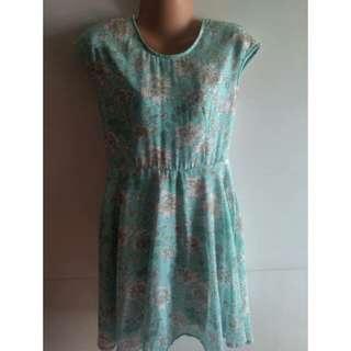 Chill Printed Chiffon Dress