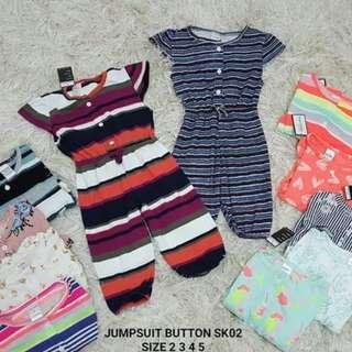 Girls Jumpsuit