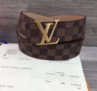 Top grade Louis Vuitton Belt