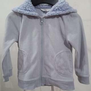 Powder blue jacket