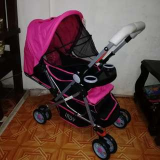 SOLD OUT Pink Baby Stroller