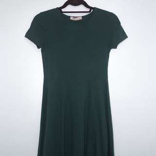 Basic Casual Skater Dress