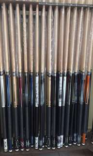 Aska scorpion aileex maple billiard cue stick tako