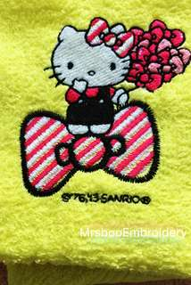 Customise Hello Kitty Handtowel