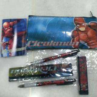 Cicakman Stationary Set (2 sets)