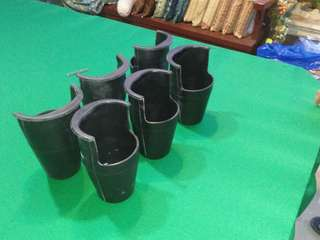 Billiard rubber pocket bulsa