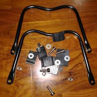 Bicycle bracket for Child seat bag