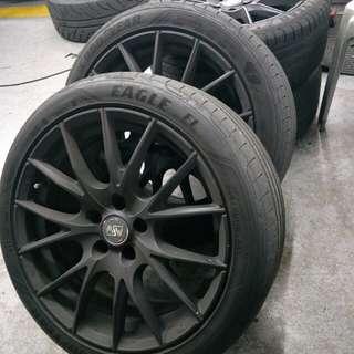 Audi 5x114.2 rims
