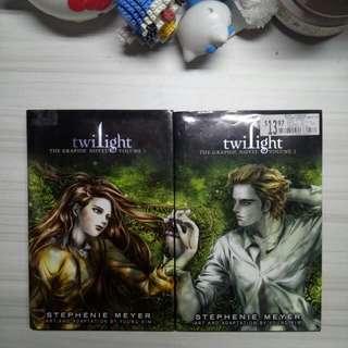 Graphic novel twilight hard cover vol. 1 & 2 [Eng]
